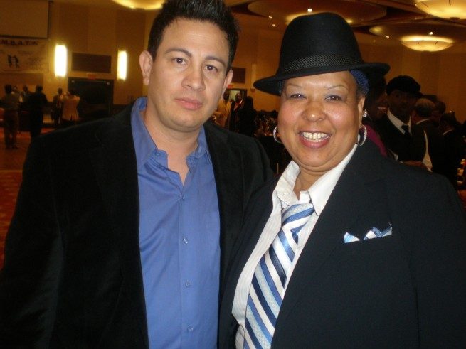 Milton Luban (SubstanceCollectables.Com) with Marian W. Muhammad