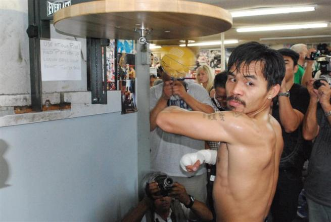 Manny Paquiao Training for his next fight