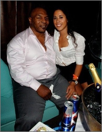 Mike Tyson and his wife.