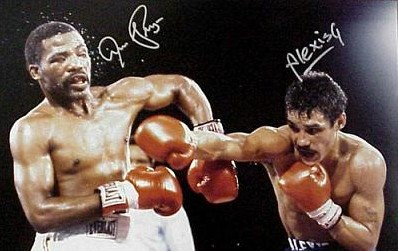 LIGHTWEIGHT DREAM FIGHT: Alexis Arguello-vs-Ismael Laguna
