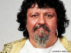 Captain Lou Albano reached a new level of fame in the '80s with his association with Cyndi Lauper