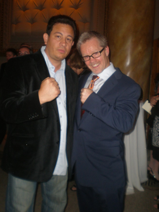 Freddie Roach and Milton Luban of www.substancecollectables.com