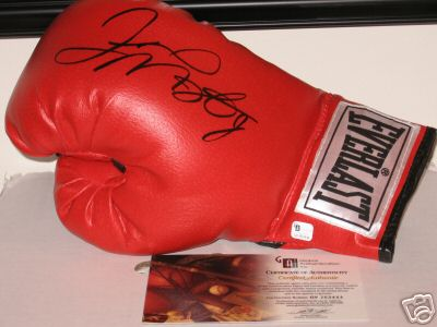 Signed Floyd mayweather Jr. Glove at www.substancecollectables.com SALE: Only $179.99