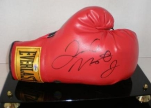 Floyd Mayweather Jr glove at www.substancecollectables.com