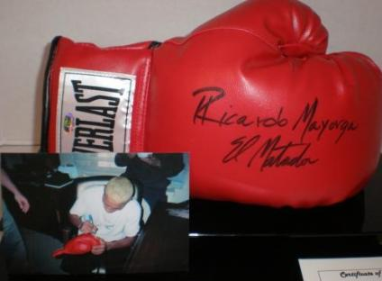 Autographed Boxing Gloves-Boxing Collectibles